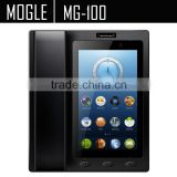 MOGLE MG100 Android VOIP Telephone support APP embeded service RS232 HDMI connect to LCD video telephone