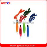 Stationery of Plastic Ball Pen with string