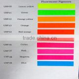 pink shining Fluorescent Pigment for paint,plastic