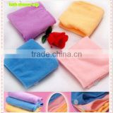 China alibaba microfiber lint-free terry towel fast- drying shower bath spa cap colorful