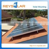 Solar PV Mounting System Flat Roof Aluminum Solar panel Mounting Rail for tin roof