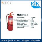 Brand since 1989!china leading safety manufacturer RIK top selling 4KG 130mm powder fire extinguisher