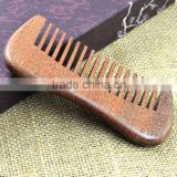 Portable Natural Scented Sandal Wood Hair Care Comb