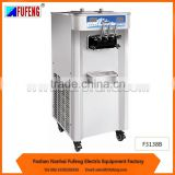 Two compressor and two seperated system freezing fast commercial soft ice cream machine F3138B