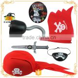 Fashion Kids pirate hat weapon set toy pirate set