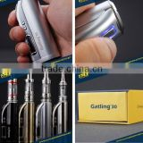 Oled screen variable wattage vaporizer 30w olax hero box mod support 0.4ohm atomizer from origional china factory