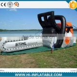 2015 Hot sale Giant Advertising inflatable electric saw,inflatable replicas model,inflatable tools for promotion