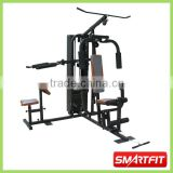 fashion hot sale home gym Multi Station Gym with biceps bench and lat bar