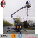 8m towable lifts for sale/person lift cherry picker sale