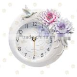 Home decor christmas decoration shabby chic home decor vintage fashion resin clock