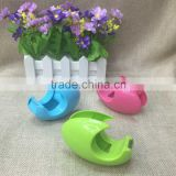 Duck egg shape tape suction card packaging stationery set 0017 KUZUO simple tape dispenser