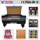 K-1310 1300*1000mm co2 fabric national flag laser cutting machine cheap price high speed laser cutting machine