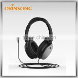 2015 professional oem noise resistant aviation headphone