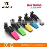 factory lowest price mini flexible tripod, mini tripod for mobiles and camera