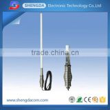 4G LTE (800-2700mhz) multiband N-female base station antenna with spring bracket base for car truck use