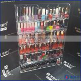 Nail polish display racks acrylic nail polish display wall mounted nail polish display rack