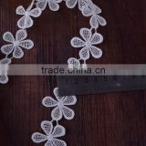 Water Soluble Jacquard Ribbon Lace Trimming