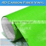 5FTx98FT 4D Blue Overlay Textured Air Bubble Free Carbon Fibre Sheet