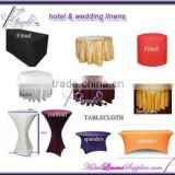 linen tablecloth, table cloth for wedding, table covers for square, rectangle , round or cocktail tables                                                                         Quality Choice