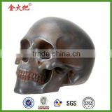 Alibaba antique bronze skull ornament figurine