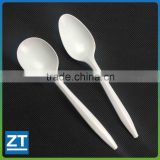 Disposable Heavy Weight White Plastic spoons                                                                         Quality Choice
