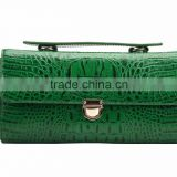 S605-A2702-green croco genuine leather bag ladies mochilas wayuu mochila carteras women bags handbags ladies 2015 alibaba China