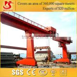 MH Model single girder light duty truss gantry crane with electric hoist