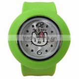 2014 newest hot sales silicone watch colorful silicone watch for promotion gift