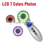 3MHz Ultrasonic Light Therapy 7 Color Light Photon Skin Rejuvenation Lightening LED Treatment System