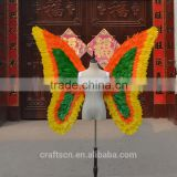 natural and man made feather butterfly wings for decoration