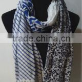 New Design Print Cotton Scarf
