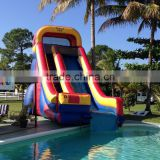 Cheap inflatable slide from Guangzhou factory juegos inflables entertainment inflatable water slide for pools