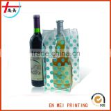 Custom Blank PVC Wholesale Wine Tote Bags No Minimum