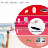 Newest Modern zigbee technology home automation wifi smart home kit remote control alarm system smart gateway