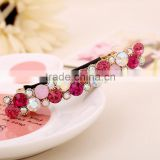New Fashion Women Exquisite Crystal Rhinestone Barrette Hair Clip Hair Accessory                                                                         Quality Choice