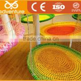 children commercial indoor playground equipment good quality nets adventure course ropes