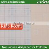 Mould-Proof non-woven material interior decoration Kids Wallpaper for kids wallpaper wallcovering