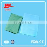 Disposable Nonwoven Blue bed sheets for hotels and hospitals,Nonwoven Disposable Surgical Bed Sheet