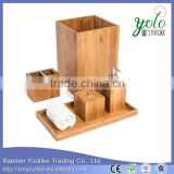 High quality Popular Design bamboo bathroom accessory set made in china                                                                         Quality Choice