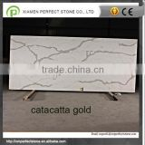 hot sale calacatta gold marble slab italy