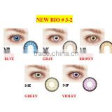 New Bio Korea circle cosmetic lenses/ color contact lens/ wholesale colored contacts good quality