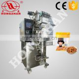 zhejiang hong zhan full-automatic particle packing machine for sugar salt seeds peanut bean rice