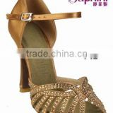 Suphini Crystal Diamond Ballroom Dance Shoes With Heel