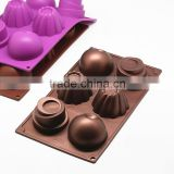 Metallic Color Silicone Mold Fondant Cake Chocolate Decorating Baking Tools Mould Soap Mold