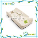 Beautiful Applique Embroidery Diaper Changing Table Pad