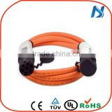 china wall socket Dostar type 1 to type 2 cable industrial plug and Socket J1772 to 62196-2 16A EV Charging Cable Plugs