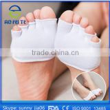 Directly Manufacture Half Foot Toe Invisible Socks No Gel Toe Socks for Yoga