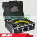 DVR Video Recording Visual Pipe Inspection Equipment CCTV Pipeline Surveys Reel Kit 710D