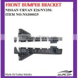 new products auto spare parts front bumper bracket NS300025 for NS Urvan E26/NV350 2013 up