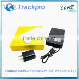 Long Battery Life Magnetic 3G GPS Tracker/GPS SIM Card Tracker with gps antenna For Asset Tracking gt07